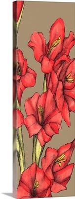 Graphic Flower Panel II