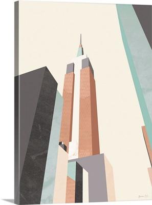 Graphic Pastel Architecture III