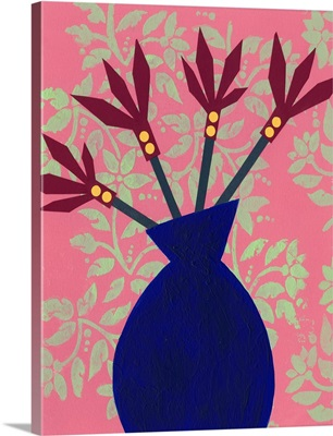 Graphic Vase IV