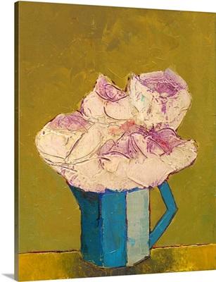 Graphic Vase of Flowers I