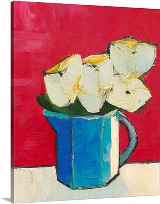 Graphic Vase of Flowers II