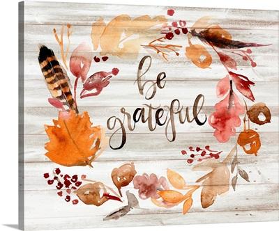 Grateful Thanksgiving I