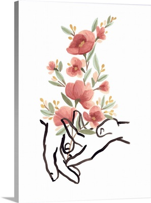 Hands And Flowers II