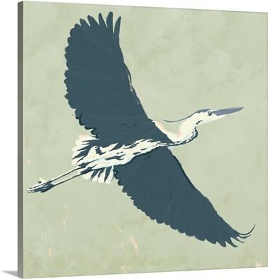 Heron Flying I