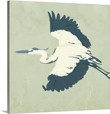Heron Flying II