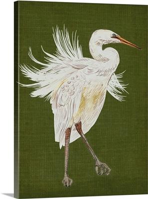 Heron Plumage I