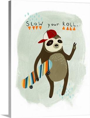 Hipster Sloth I