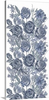 Ice Blue Botanical I