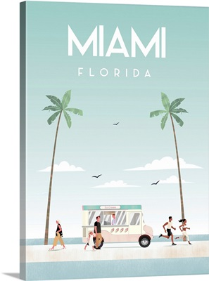 Illustrated Miami Beach I