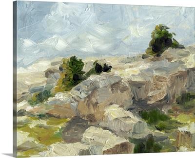 Impasto Mountainside I