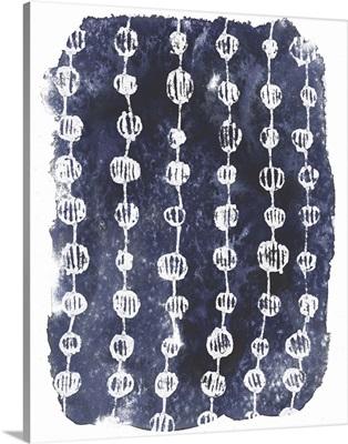 Indigo Batik Vignette I