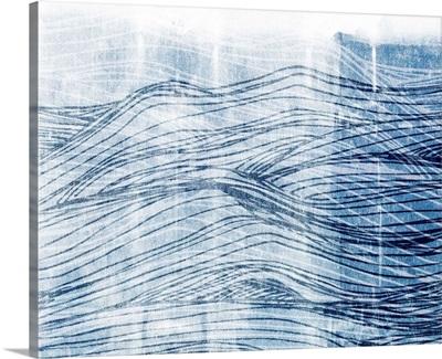 Indigo Waves I