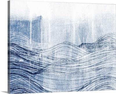 Indigo Waves II