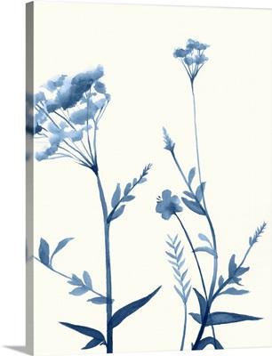 Indigo Wildflowers I