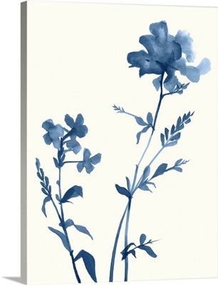 Indigo Wildflowers VI