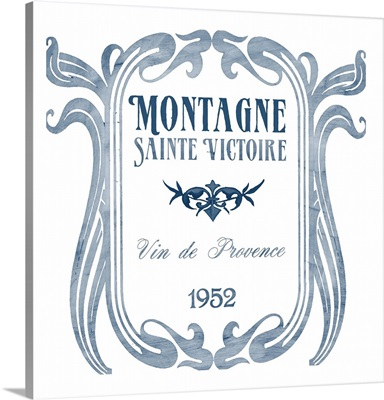Indigo Wine Labels V