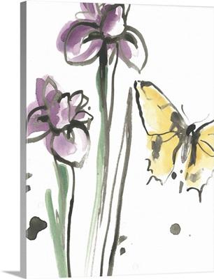 Ink Wash Garden IV