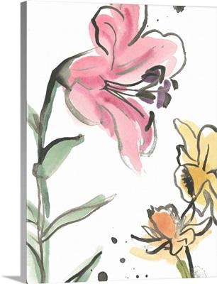 Ink Wash Garden V
