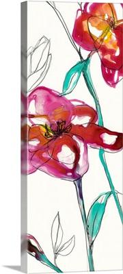 Inked Floral II