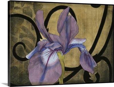 Iris and Scrolls I