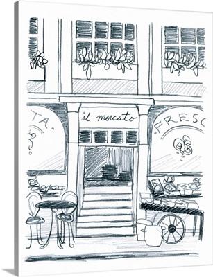 Italian Street Sketch IV
