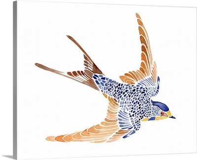Jeweled Barn Swallow I