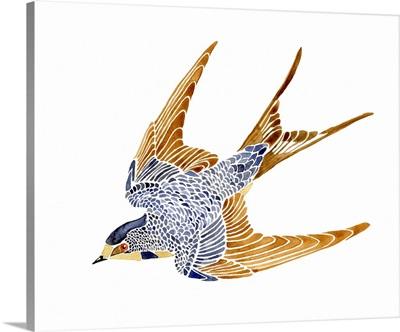 Jeweled Barn Swallow II
