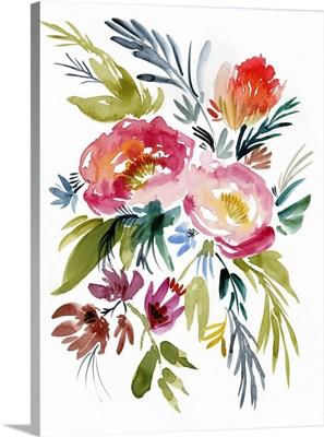 Jeweled Bouquet I