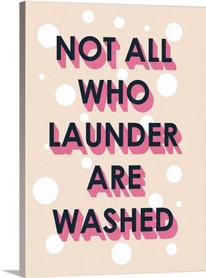Laundry Typography I