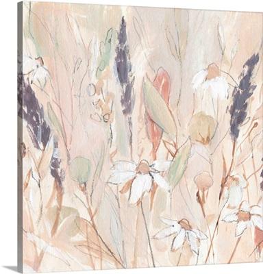 Lavender Flower Field I