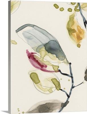 Leaf Branch Triptych II