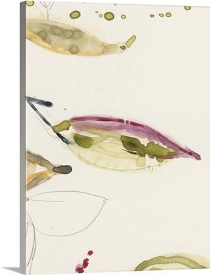 Leaf Branch Triptych III