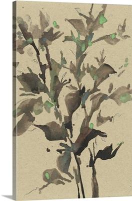 Leaves On Taupe II