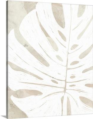 Linen Tropical Silhouette I