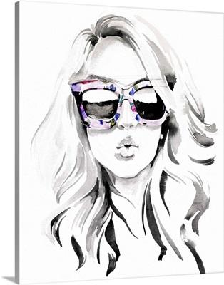 Look Into The Sun (Glasses) I