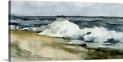 Loose Watercolor Waves II