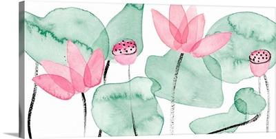 Lotus in Nature I