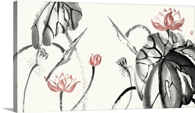 Lotus Study with Coral II