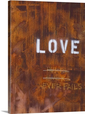 Love Never Fails I