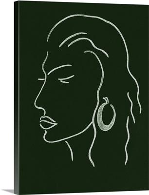 Malachite Portrait III