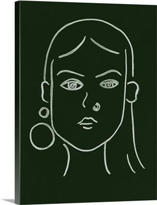 Malachite Portrait IV
