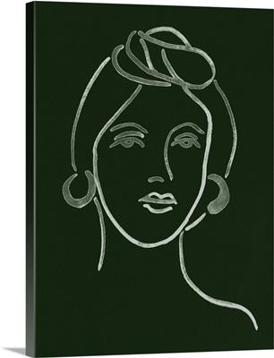 Malachite Portrait V