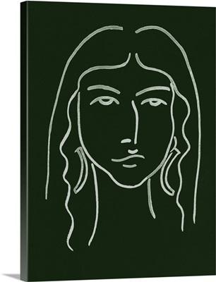 Malachite Portrait VI