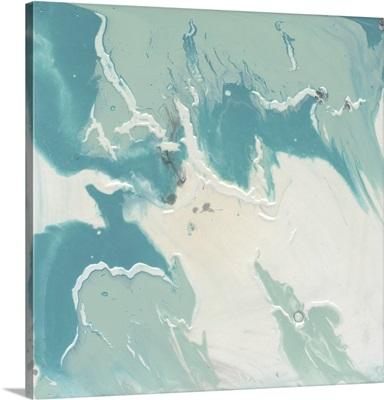 Marbled Aqua I