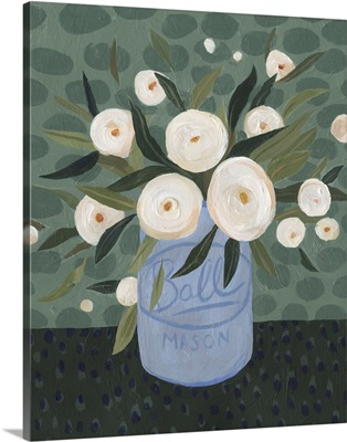 Mason Jar Bouquet III