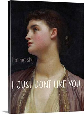 Masterful Snark - Not Shy
