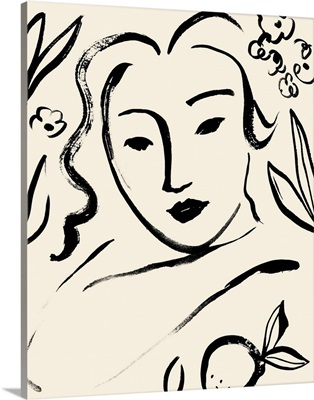 Matisse's Muse Portrait I