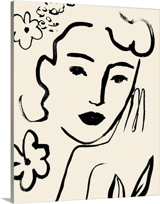 Matisse's Muse Portrait II