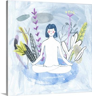 Meditation Garden Yoga III