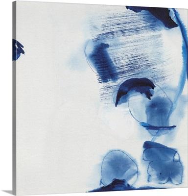 Minimalist Blue & White II